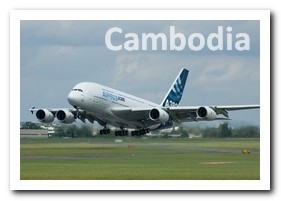 ICAO and IATA codes of Siem Reap